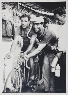 Aldo Bini con Faliero Masi - foto archivio Masi