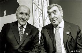 Vittorio Adorni - Eddy Merckx, inaugurazione museo Faema